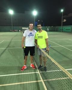 Another battle Saeed Bin Hasher Al Maktoum win in two days match Addison luck #11/9 supertiebreak