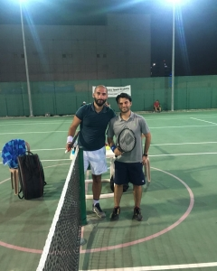 Eta open Qualifications draw Malek keeps winning match with Zayed Abbas