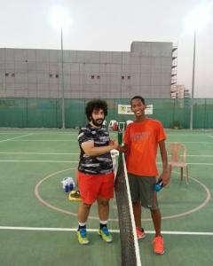 Dagi Gebreyes and Mohamed Ahli moves on will face Alexander Putsovit next open