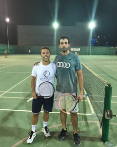 Sheihk Saeed beats Castelli on to the last round of qualification done each match headmiddleast