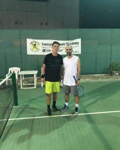 Clash of generations Putsovit and Michael Maksoudian moves to last qualis round