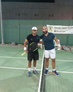 Impressive Mr Rajiv #3 wins in a row #3 matches won in deciding supertiebreak on to last round qualis Morjan Malek