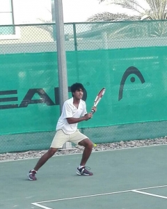 Pranav Sahvdani of Jad Ayoub on to last round of qualifying wins