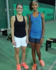 Great match seed Gulia wins against Teenager Lia women's open