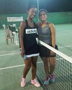 Simran moves on luck Mekdi women's open