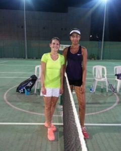 Well done Giulia seed qualified for the finals beats Anaya Singh women's open