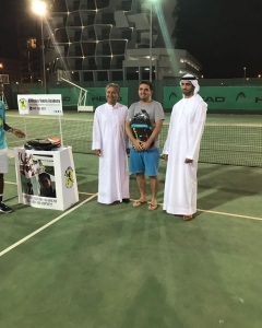 Christian Costin great tournament to main draw men's open
