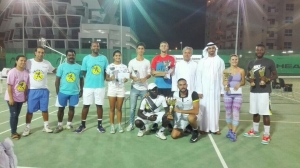 Thank you all team Michael and runners up players Saeed Bin Hasher Al Maktoum Federation Abdulmalik event