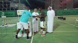 Michael coach of men's doubles the award a