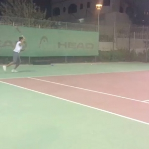 Pleasure to train Nancy Fawzy Former n1 player in UAE 1 player US university pro circuit preparation