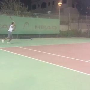 Pleasure to train Nancy Fawzy Former n1 player in UAE 1 player US university pro circuit preparation