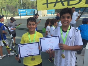 Congratulations Anthony and Lad and 3rd place tournament coach Nabil up the hard work
