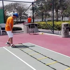 Register with Eta Al Barsha tennis classes specific training program coaches Pond Park Mawakeb create champions